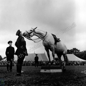 Mounted Police Display, 1950